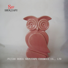 Owl Ceramic Furnishing Articles on The Desk Decoration