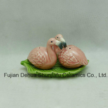 Flamingos Ceramic Pepper Pot Kitchen Furniture