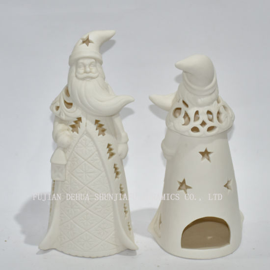 Santa Claus Shape Candlestick/Christmas Decoration