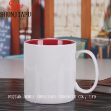 Custom Ceramic Cup Coffee Mugs (Inside Colorful)