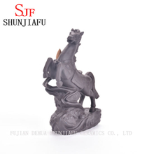 Ceramic Ten Thousand Horses Galloping Incense Burner