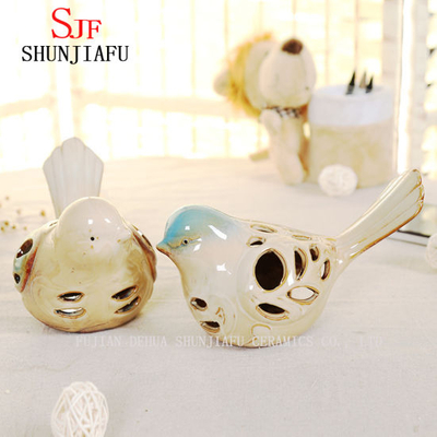 a Pair of Birds Ceramic Decoration Animals Crafts Wedding Gifts Welcome Home Warming Christmas.