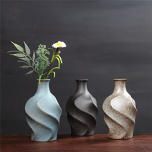 Home Decoration OEM Wholesale Glazed Home Decor Modern Decoration Ceramic Flower Vase