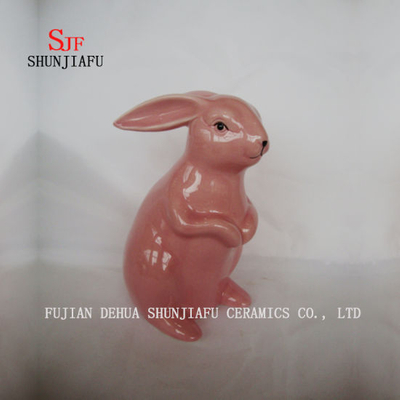 Creative Rabbit Furnishing Ceramic Articles Home Decoration on The Desk