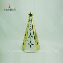The Christmas Tree Home Furnishing Decorative Ceramic Candlestick Ornaments Gifts Decor