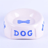 Molly Exclusive Use Pink Ceramic Pet Feeder Ceramic Dog Bowl
