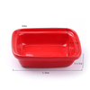 Buddy Max Charlie Bella Exclusive Use red Ceramic Pet Feeder Ceramic Dog Bowl