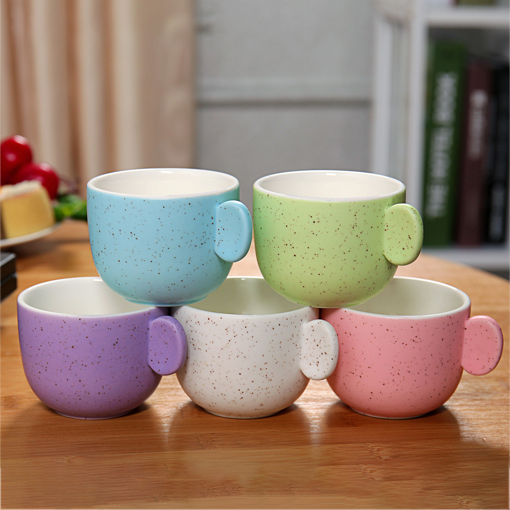 Ceramic Ice Cream Cup
