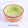 Ruby Coco Exclusive Use Pink Ceramic Pet Feeder Ceramic Dog Bowl