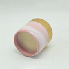 pink plated rose and gold speckled design Ceramic candle cup