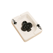 Ceramic Ashtray | Ace Of Hearts Card