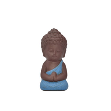 Customized Crafts Home Decor Wedding Gift Different Color Choose Guanyin Figurine Buddha Ceramic Little Monk Statue